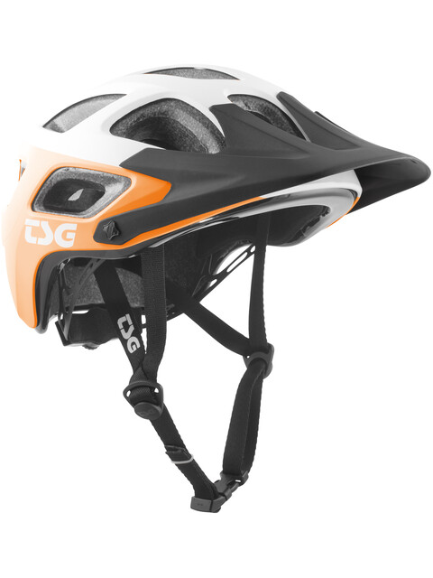TSG Seek Graphic Design Helmet block acid orange-white